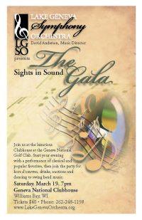 Sights Gala poster